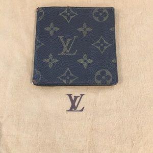 Authentic monogram bifold wallet